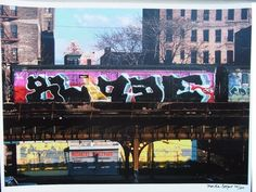 Blade by Martha Cooper at Brandler Galleries - Printed Editions - Ref 23624 Limited Edition Prints, Printmaking, New York City, Blade, Graffiti, Street Art, Photographic Prints, Nyc, Art Prints