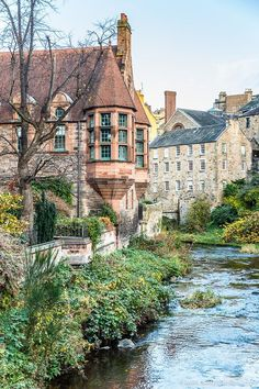 Secret Edinburgh - Discover 5 of the City's Under-the-Radar .- Secret Edinburgh – Discover 5 of the City's Under-the-Radar Gems Dean Village is one of the most beautiful under-the-radar places in Edinburgh, Scotland.(I lived there. Vacation Places, Dream Vacations, Places To Travel, Travel Destinations, Travel Tourism, Nightlife Travel, Holiday Destinations, Vacation Spots, Places Around The World