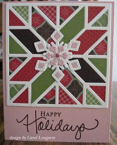 Our Little Inspirations: Christmas Quilt Card
