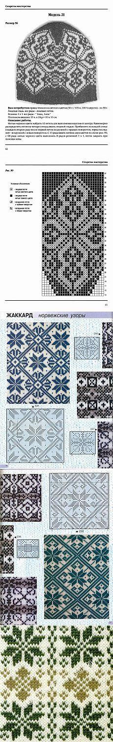 Вязаные шапочки, шарфы и снуды Knitting Charts, Knitting Stitches, Knitting Designs, Knitting Patterns, Crochet Patterns, Filet Crochet, Knit Crochet, Crochet Hats, Knit Mittens