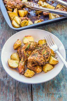 Roasted Chicken with Honey, Lemon and Rosemary | Recipe | Honey Lemon ...