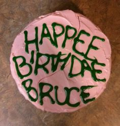 You're a wizard Harry - Hagrid themed birthday cake! Love Harry Potter!