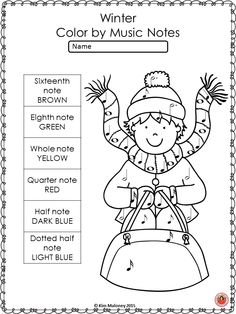 Winter Music Activities: 26 Winter Color by Music Notes Music Worksheets Winter Color by Music Symbols. ♫ CLICK through to check them out of save for later! Music Games, Music Activities, Kids Music, Preschool Music, Music Lesson Plans, Music Lessons, Piano Lessons, Primary Lessons, Dynamics Music