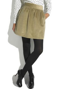 Brown skirt and black tights? Is that allowed?