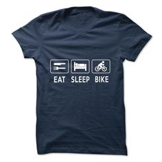 EAT SLEEP BIKE SHIRT
