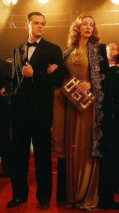 Leonardo DiCaprio as Howard Hughes and Cate Blanchett as Katharine Hepburn in 'The Aviator', 2004.