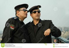 Photo about You can see two high-ranking police officer from Egypt. Image of discuss, guard, keep - 18087805 Police Uniforms, Police Officer, Cairo, Egyptian, Art Drawings, Captain Hat, Royalty Free Stock Photos, Google Search, Image