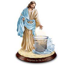 Be Not Afraid Jesus Walking on Water Figurine  Religious Bradford Exchange
