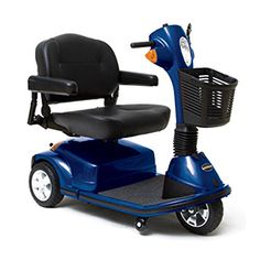 Pride Mobility  Maxima  Heavy Duty Scooter  3Wheel Scooter  Viper Blue  PHILLIPS POWER PACKAGE TM  TO 500 VALUE *** Find similar products by clicking the VISIT button