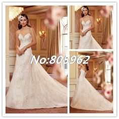 Find More Wedding Dresses Information about 2014 Sexy Sweetheart Appliques A Line Wedding Dresses Organza Sleeveless Strapless Bridal Gown vestidos de novia Open Back D65,High Quality Wedding Dresses from Suzhou Romantic Wedding Dress Co. Ltd on Aliexpress.com