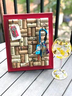 #winecorkboard #corkboard #bulletinboard #jewelryorganizer #jewelrydisplays #jewelrystorage #keyhanger #keyorganizer #keydisplay #keystorage #reddecor #redframe #winecorks #winegifts #wino #winelover #winelovergifts #anniversarygift #valentinesdaygiftideas #vineyardwedding Gifts For Wine Lovers, Wine Gifts, Gift For Lover, Jewellery Storage, Jewelry Organization, Jewellery Display, Wine Cork Jewelry, Wine Cork Holder, Recycled Wine Corks