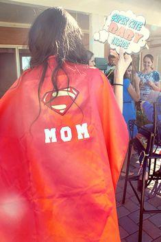 Baby shower super mom cape                                                                                                                                                     More