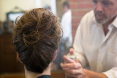 @Michelle Flynn Cinquepalmi Wedding Updo - Mother of the Bride-can't see the front but this is nice.