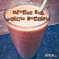 almond joy protein smoothie #guiltfree #nocandyrequired #chocolate #fitfoods