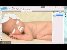 clean edit newborn photoshop tutorial