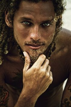 Well, hello there, fella! Lol. Kiwan Landreth-Smith - by Laura Ferreira, Port-of-Spain. He's Trinidadian.