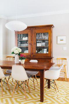 Cohesive Decor and Originality in a Boston Family Home - @Homepolish Boston