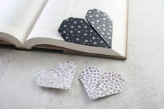 Origami Bookmark by Jessica Torres on @creativemarket