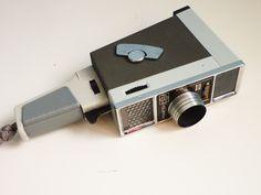 Vintage Film Camera Meopta Supra A8G1 Double Super8. €59,00, via Etsy.