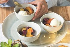 Serving Bowls, Yummy Food, Tableware, Mascarpone, Dinnerware, Delicious Food, Tablewares, Dishes, Place Settings