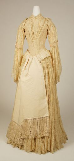 Evening Dress Late 1880s United States MET