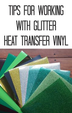 5 Tips for Making your Heat Transfer Vinyl (HTV) Project Easier