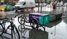 Deliverooo (photo @bicyclebot)