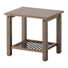IKEA - РИКЕНЕ, Тумба прикроватная, , Массив дерева – прочный натуральный материал. 40 на 50 см