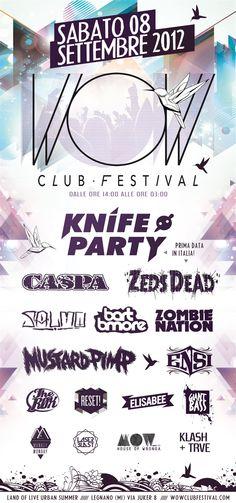 WOW Club Festival