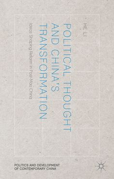 Political Thought and China's Transformation book cover ©Palgrave Macmillan