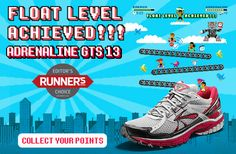 Float to the next level in the new @BrooksRunning Adrenaline GTS 13 now available @CharmCityRun #RunBaltimore