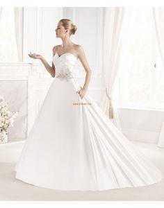 Halle Klassisch & Zeitlos Reißverschluss Brautkleider 2015