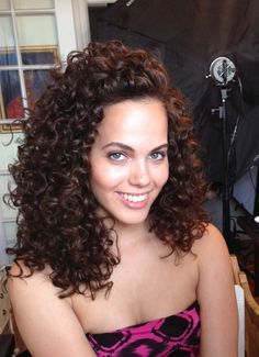 curl perfection using Briogeo products!