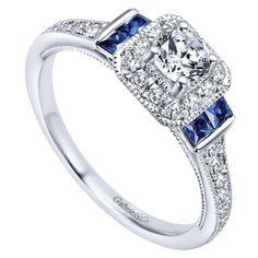Celtic Wedding Rings, Wedding Rings Vintage, Vintage Engagement Rings, Vintage Rings, Vintage Diamond, Gold Wedding, Vintage Jewelry, Dream Wedding, Sapphire Wedding