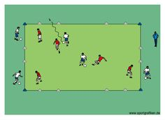 http://www.top-soccer-drills.com/dribbling-u6-u8.html Great collection of 900+ youth soccer drills for every level of coaching #soccer #drills #dribbling #u8