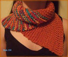 Resultado de imagen para bufandas tejidas a mano