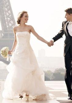 Wedding Couple in Paris