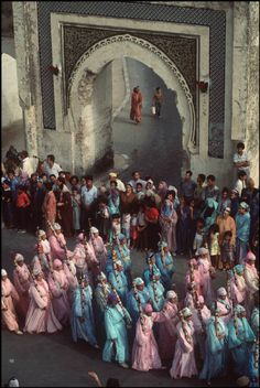 Morocco. Fez. A Traditional wedding .1984