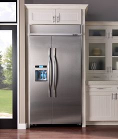 1000 Images About Built In Refrigerator On Pinterest