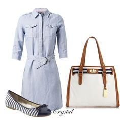 """Simple and Cute"" by tcjnblanton on Polyvore"