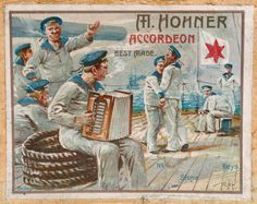 Vintage Hohner Accordion ad