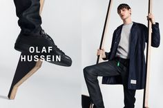 OLAF HUSSEIN is a menswear label based in Amsterdam. We combine forward-facing with atletic details.