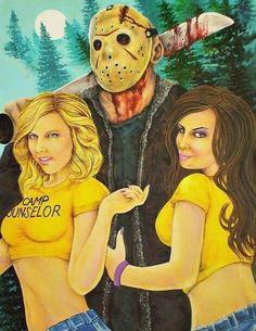 Friday the 13th Fan Art