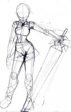 Trendy Drawing Reference Poses Models Artists - trendy drawing reference poses models artists Drawing Tips drawing poses - Drawing Base, Drawing Artist, Manga Drawing, Figure Drawing, Chibi Drawing, Sword Drawing, Comic Drawing, Gesture Drawing, Art Drawings Sketches