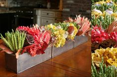 Artistic rustic Flower Arrangements | Original Centerpiece