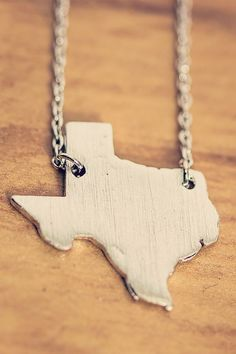 Texas Necklace - Modern Ego Boutique. Get 10% off your first purchase with this link: http://www.modernego.com?r=7383