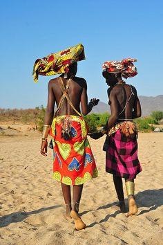 Angola People | Angola | The Mucubal of Angola are a proud people