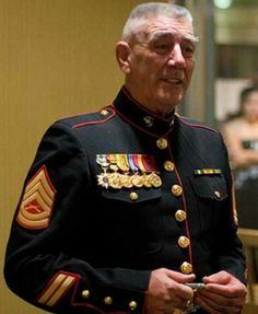 Ronald Lee Ermey (born March is a retired United States Marine Corps Gunnery Sergeant, Drill Instructor and actor.{My Dad was a USMC Sergeant and Drill instructor} Once A Marine, Marine Mom, Us Marine Corps, Marine News, Military Veterans, Military Life, Military History, Military Ranks, Anime Military