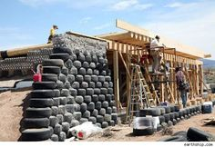 Habitats: 'Earthships' Take Off in New Mexico Desert   AOL Real Estate
