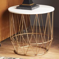 Found it at AllModern - Metal End Table